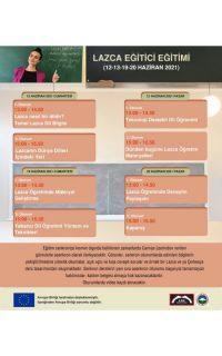 12-20 Haziran: Lazca Eğitmen Eğitimi